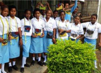 Foto von Mädchen im Faraja-Center