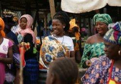 Foto von Frauen am Markt in Tanzania